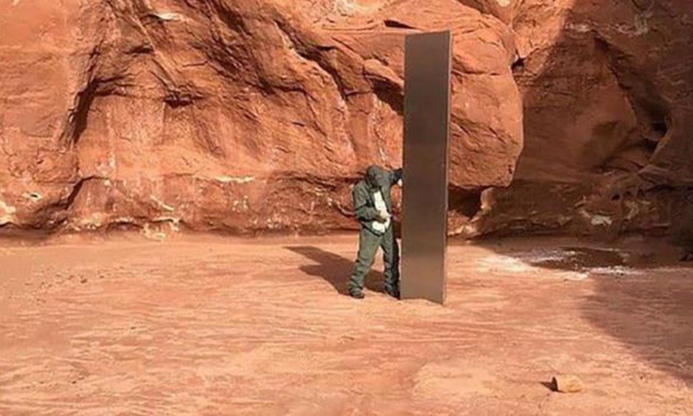 Birçok ülkede ortaya çıkan gizemli monolitlerin sırrı çözüldü