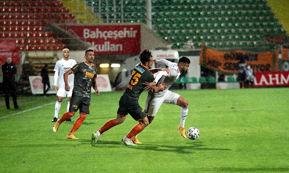 Beşiktaş, Alanya'da yara aldı! İşte maç sonucu