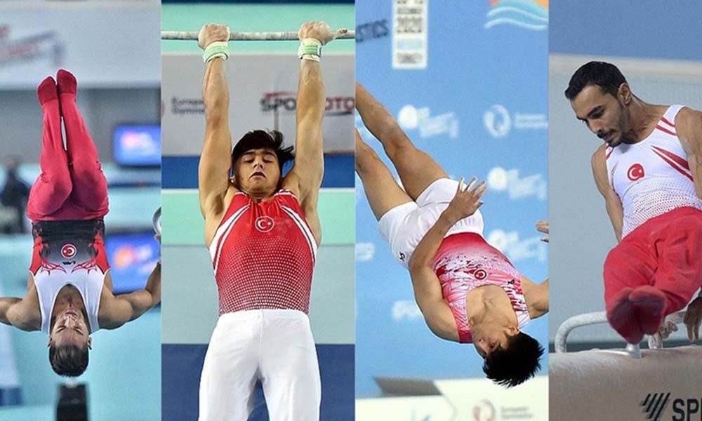 Cimnastik'te tarihi başarı! Artistik Cimnastik Milli Takımı Avrupa ikincisi oldu