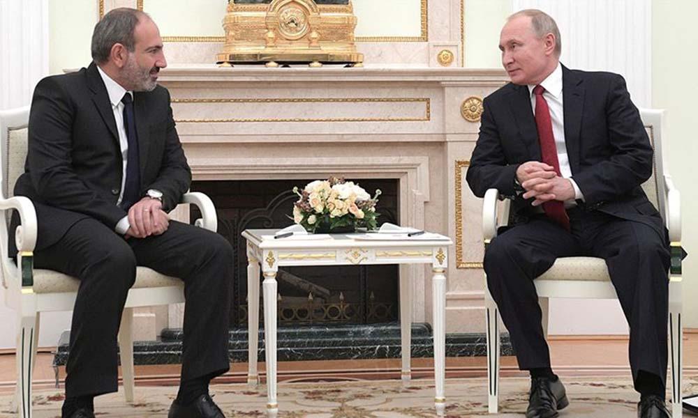 Paşinyan, Dağlık Karabağ hezimetinin faturasını Rusya'ya kesti