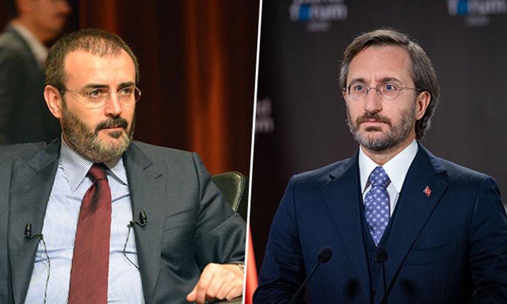Bir yandaş gazete daha Fahrettin Altun ve Mahir Ünal'ı hedef aldı