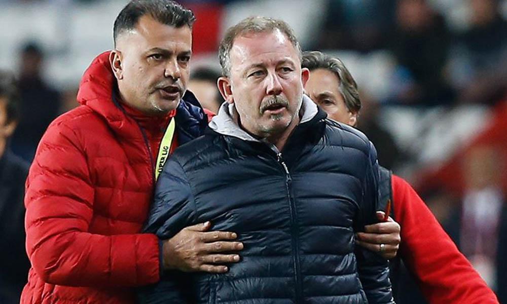 Kupa maçı sonrası, Sergen Yalçın isyan etti