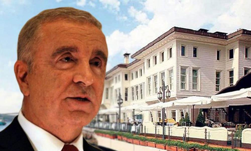 Eski Galatasaray Başkanı Ünal Aysal'ın kayyum atanan yalısını Akbank aldı