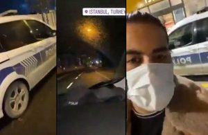 Bu kadarına da pes! İranlı YouTuber polis aracıyla İstanbul'da tur attı