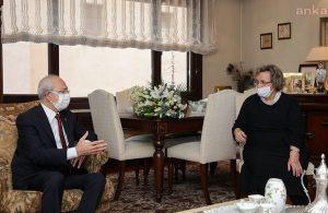 Kılıçdaroğlu'ndan Alparslan Türkeş'in eşi Seval Türkeş'e ziyaret
