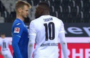 Mönchengladbach'tan rakibine tüküren Marcus Thuram'a tarihi ceza