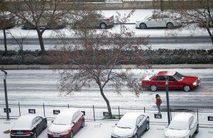 Başkent beyaza büründü… Ankara'da yılın ilk karı