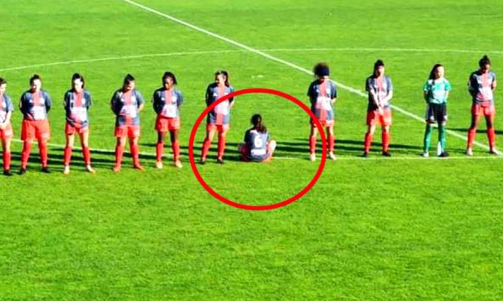 Kadın futbolcu, Maradona'yı anmayı reddetti: Saygı duruşunda bulunmayı reddettim