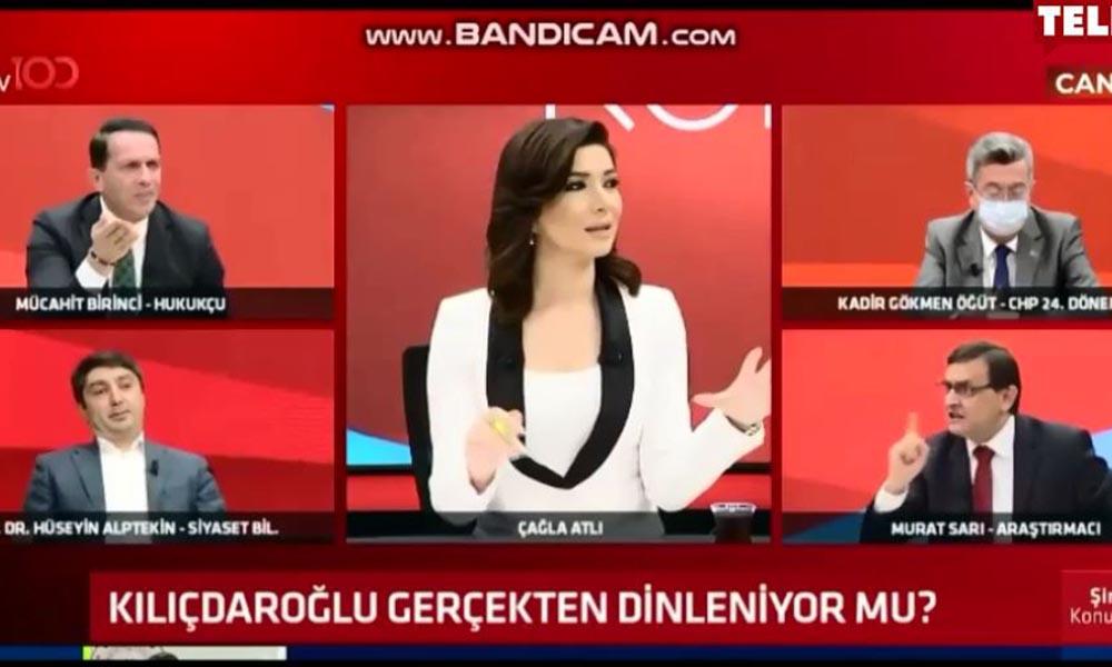 AKP'li üye ile tartışan iki konuk canlı yayını terk etti
