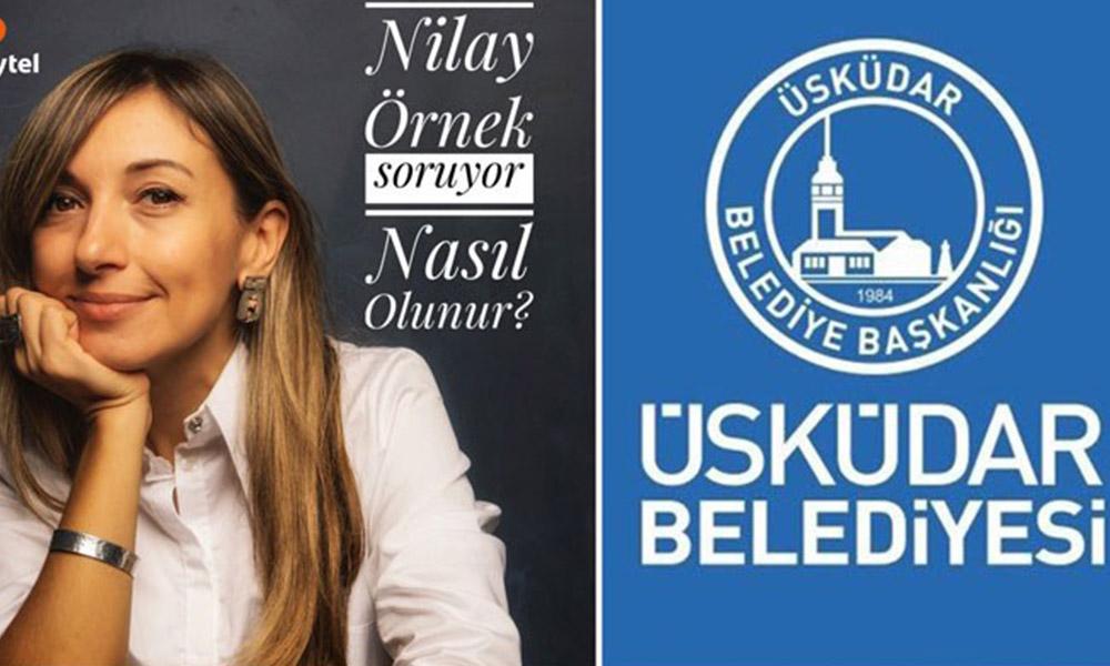 AKP'li belediye, gazeteci Nilay Örnek'in program adı ve formatını kopyaladı