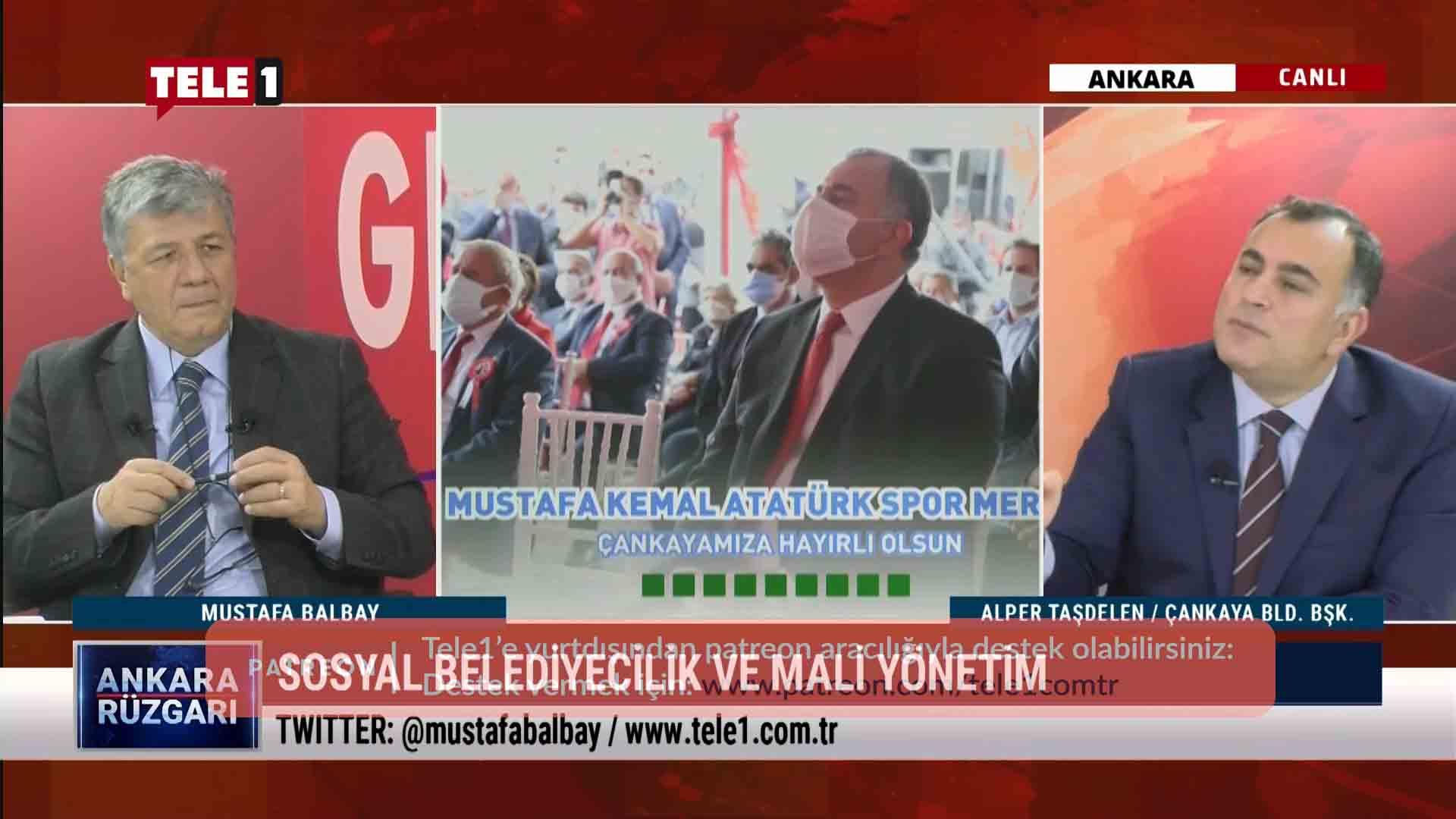 Alper Taşdelen, Çankaya Belediyesini anlattı – ANKARA RÜZGARI