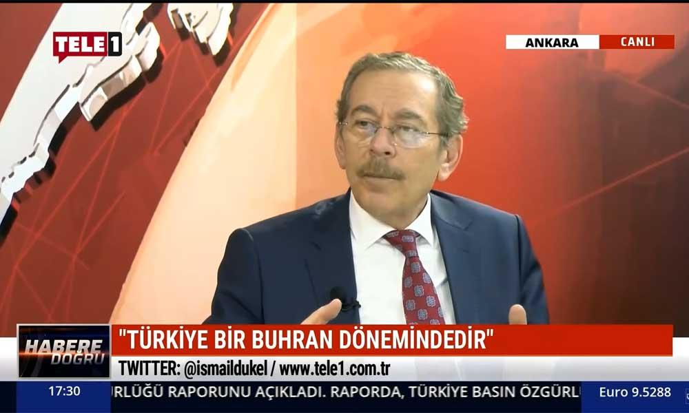 Abdüllatif Şener: Türkiye'de hangi kriz 2,5 yıl sürdü?