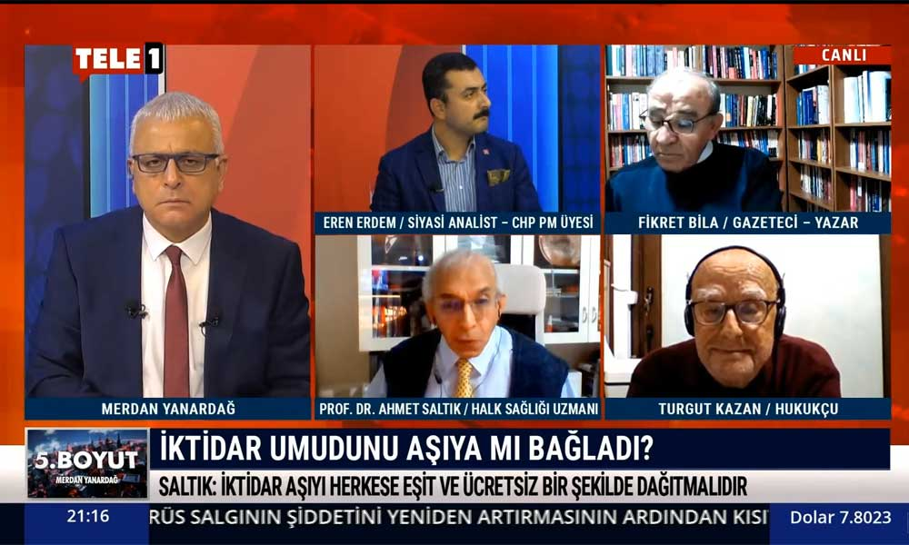 Ahmet Saltık: 50 milyon aşı Türkiye'ye yetmeyecek