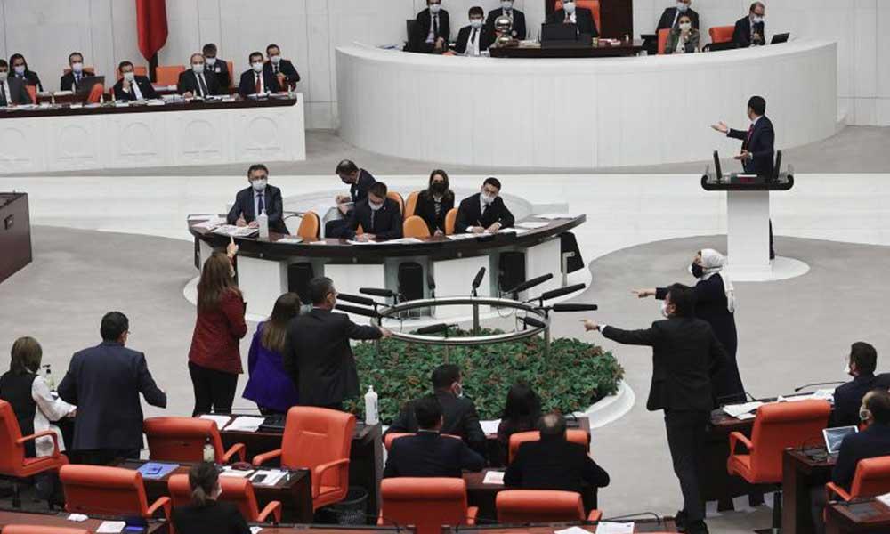 CHP'li Kadıgil'e hakaret eden AKP'li vekile uyarı cezası