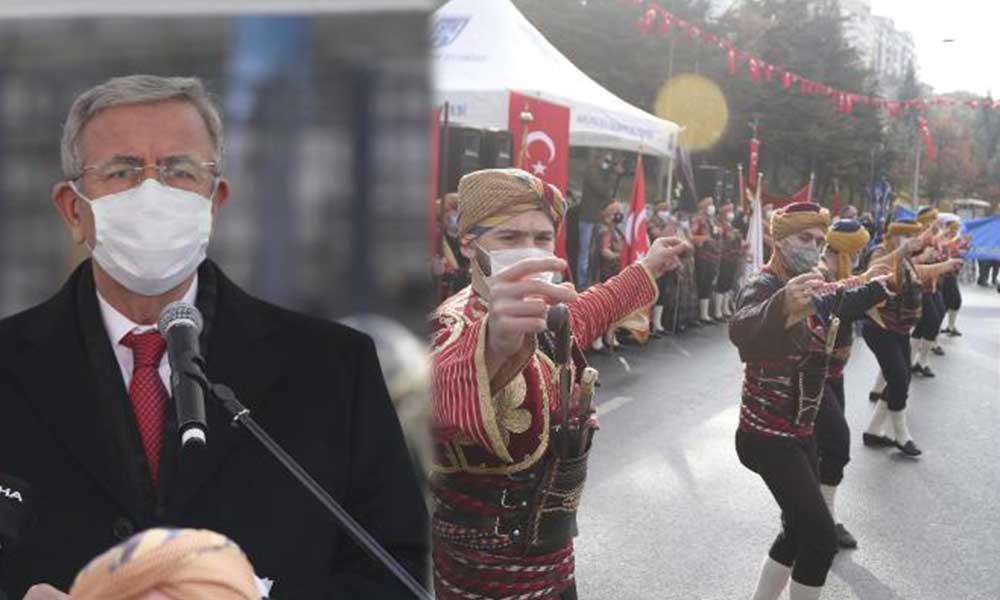 Atatürk'ün Ankara'ya gelişinin 101'inci yıl dönümü törenle kutlandı