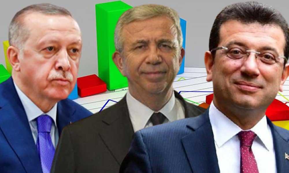 Çarpıcı anket… İşte Erdoğan'a karşı en yüksek oyu alan isim