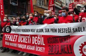 DİSK'ten asgari ücret eylemi