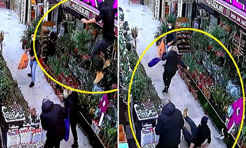Avcılar'da bıçaklı saldırgan dehşeti… Saniye saniye kaydedildi