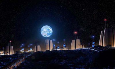Avrupa Uzay Ajansı 'Ay'da inşa edilecek evleri' paylaştı