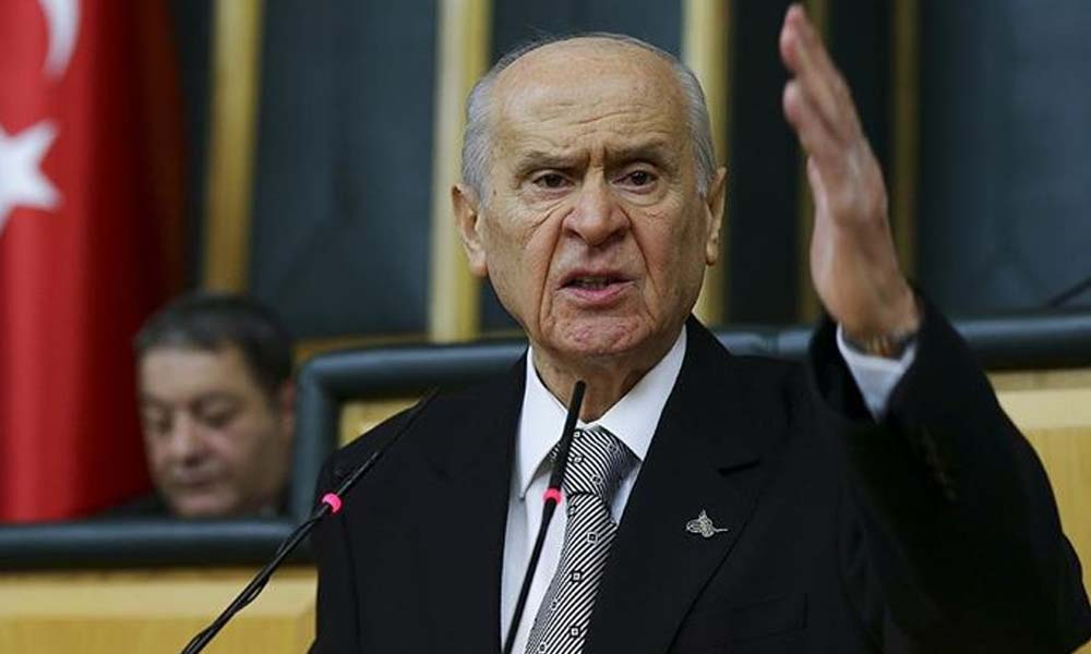 Bahçeli'den Erdoğan'ın 'yeni anayasa' çıkışına destek