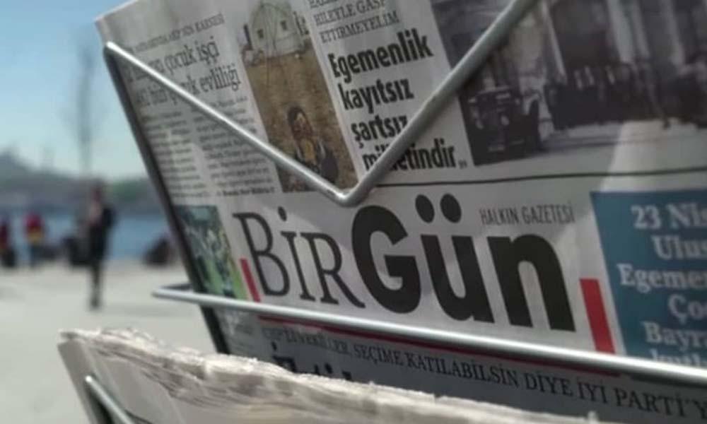 BirGün'e 23 günlük ilan kesme cezası