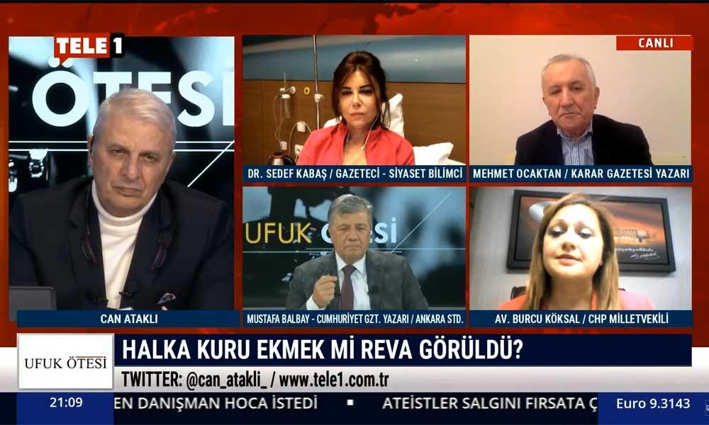 CHP'li Burcu Köksal: Cengiz İnşaat'a 422 milyon dolar vergi affı yaptılar, esnafa pandemide 5 milyon lira layık gördüler