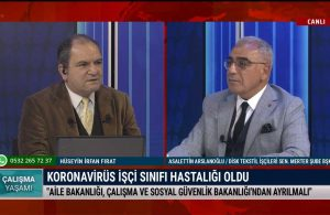 Çalışma Yaşamı'nın bu haftaki konuğu Asalettin Arslanoğlu