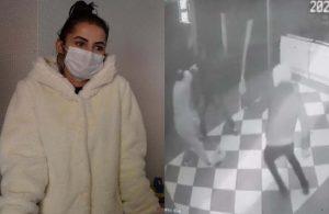 Kadın simitçi iş yerinin önünde sopalı saldırıya uğradı