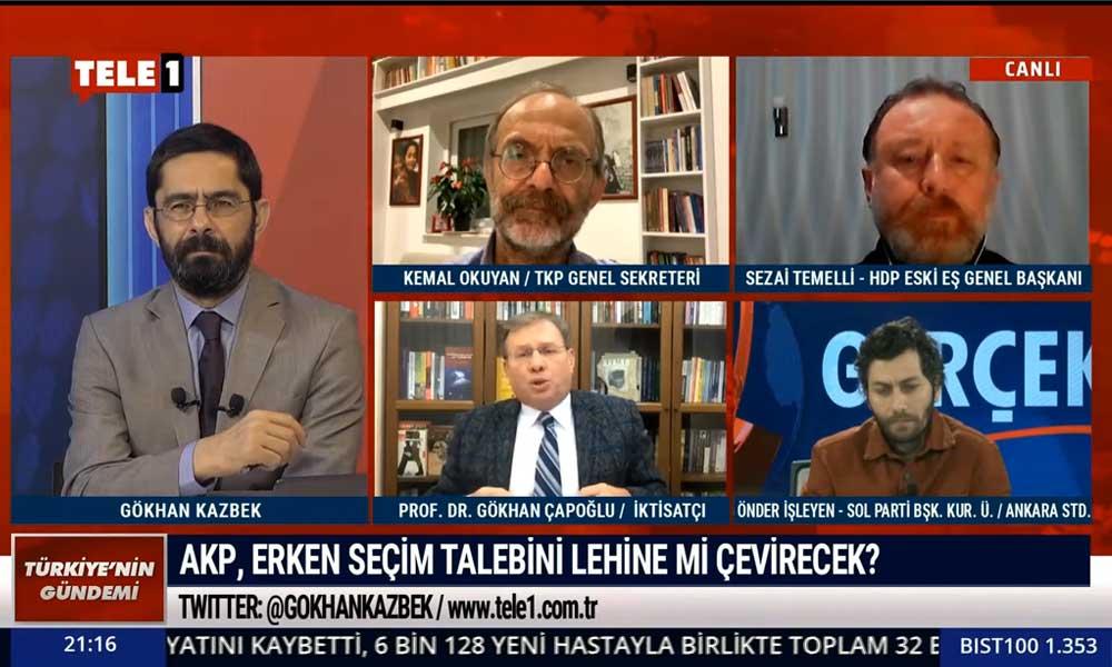 Gökhan Çapoğlu: Türkiye Cumhuriyeti kurulduğundan beri böyle sefalet görülmedi