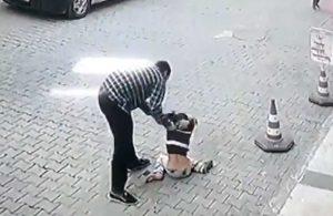 Çocuğu dövüp yere çarpan esnaf, ilk duruşmada tahliye edildi!