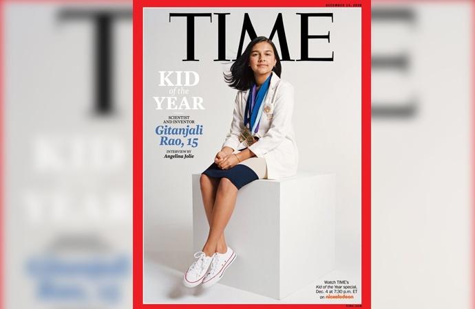 """Time dergisinden bir ilk: """"Yılın Çocuğu"""""""