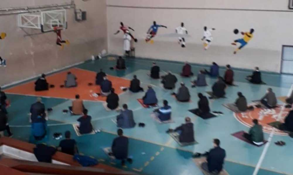Okulların spor salonları 'cuma namazına' açıldı!
