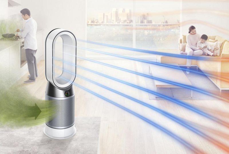 Dyson Pure Hot + Cool : Havayı temizliyor, ısıtıyor ve soğutuyor