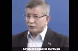 Davutoğlu: Beni kaygılandıran, Erdoğan'ın ve Ak Parti'nin Bahçeli'nin esiri haline gelmesi