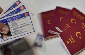 Ehliyet ve pasaport harçlarına zam