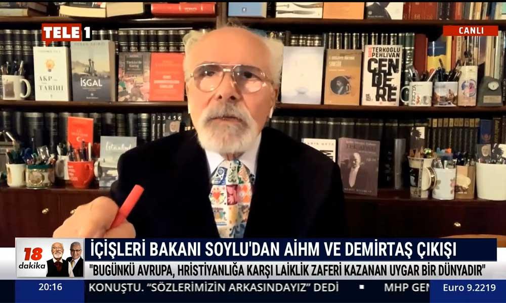 Emre Kongar: AİHM'in kararı, Türkiye'nin hukuk uygulamalarının ciddi darbe aldığını tescil etti