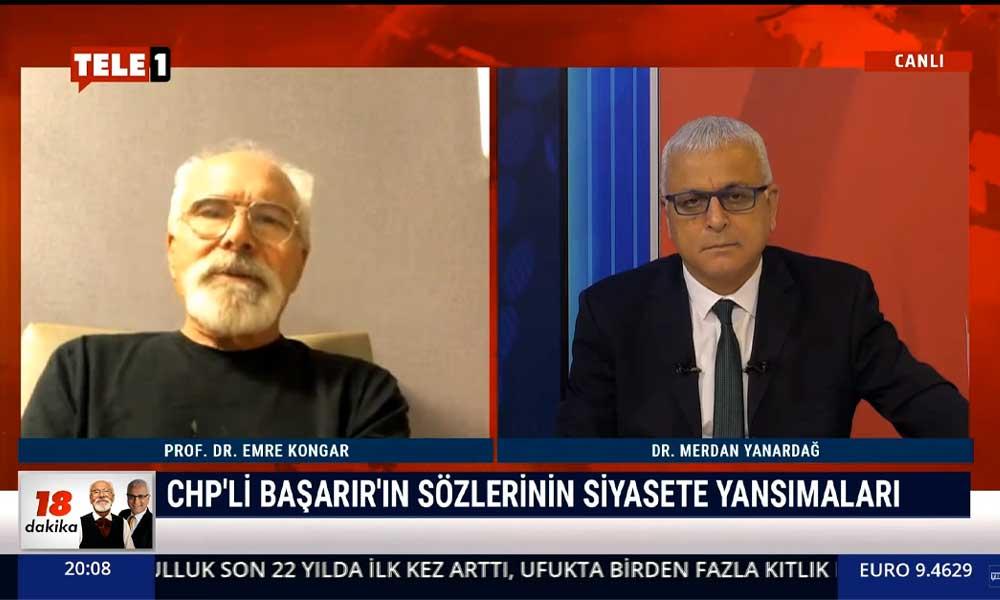 Emre Kongar: CHP'yi ordu düşmanlığıyla suçlayanlar, dünyada örneği görülmemiş biçimde ordu düşmanlığı yaptılar