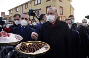 Erdoğan'dan gazetecilere: Bununla beslenene covid movid bulaşmaz