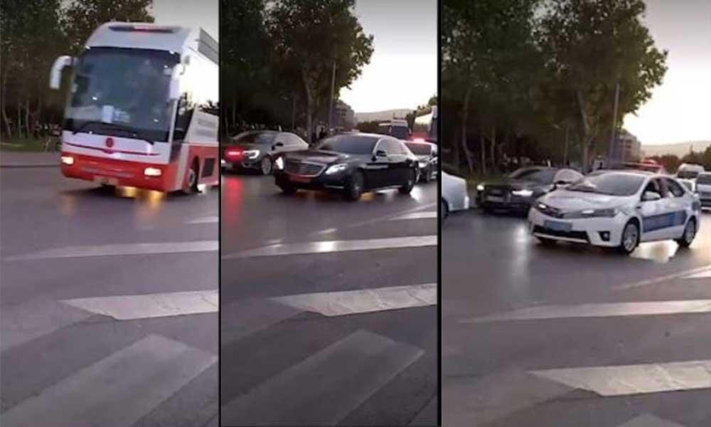 Sosyal medyada gündem oldu: Erdoğan'ın konvoyunda bu araçlar neden var?