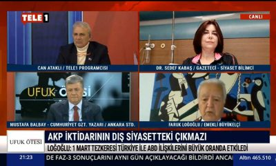 Emekli Büyükelçi Faruk Loğoğlu: Trump'ın bu kararı giderayak Biden'in elini kolaylaştıracak