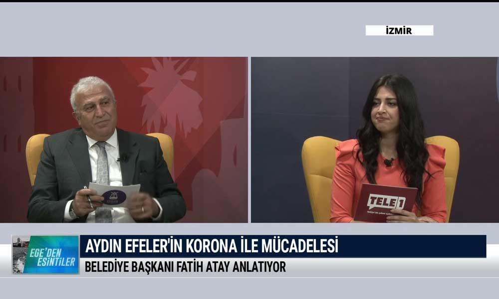 Ege'den Esintiler'in bu haftaki konuğu Efeler Belediye Başkanı Fatih Atay