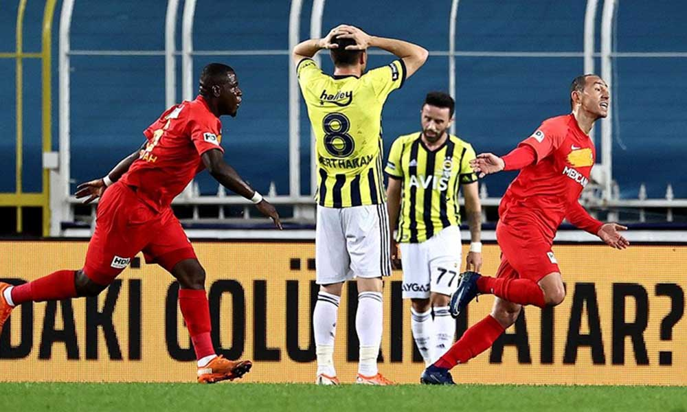 Fenerbahçe evinde yine kaybetti