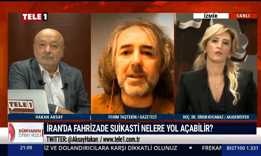 Fehim Taştekin: Herkesin gözü şimdi İran'da