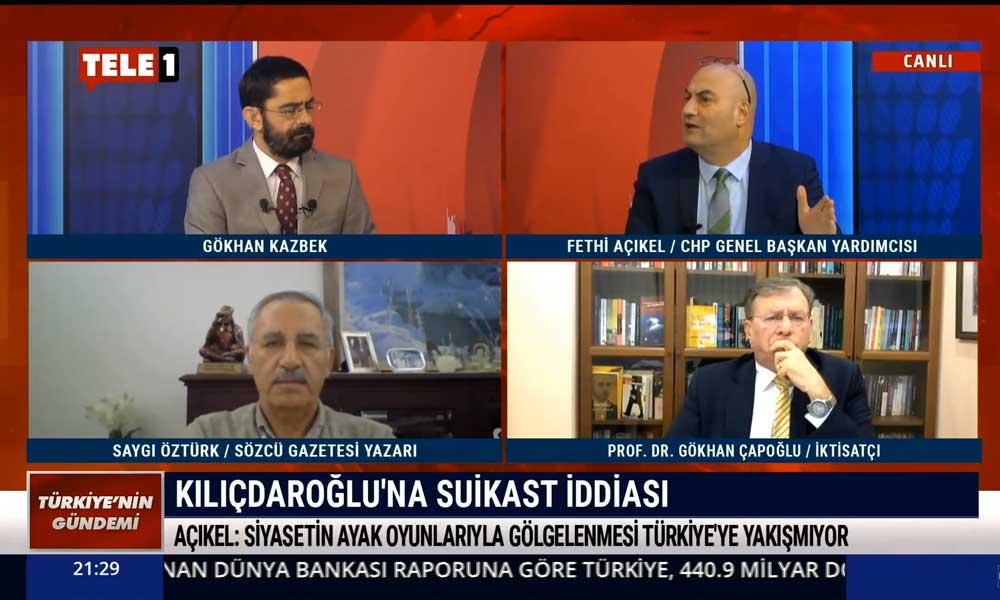CHP'li Fethi Açıkel: Cumhur İttifakı ve Saray rejiminin telaşı bundan