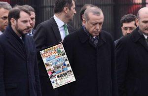 Bir ilk yaşandı… Albayrak'ın gazetesinde dikkat çeken Erdoğan detayı