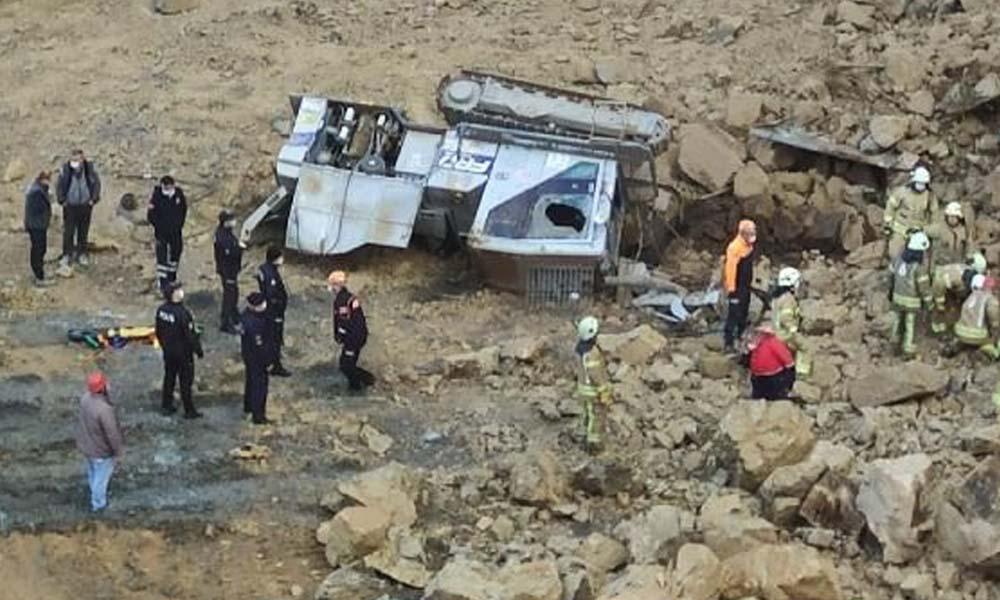 Taş ocağında göçük: İki işçi hayatını kaybetti