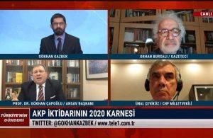 Gökhan Çapoğlu: Erdoğan bunun hesabı içerisinde