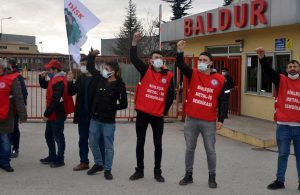 Baldur'da grev: Gözaltına alınan 5 kişi serbest bırakıldı