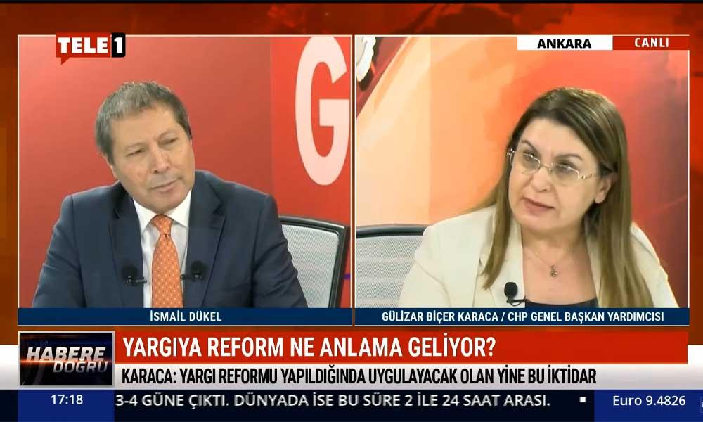 CHP'li Gülizar Biçer Karaca: 'Yargı reformu'nun çürüttükleri yargı sistemini tamir etmek için olduğu anlaşılıyor