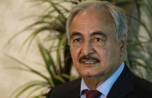Hafter: Tüm kuvvetlerimizi Libya'daki Türk kuvvetlerine karşı savaşa hazır olmaya çağırıyorum